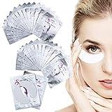 50 Pares de Almohadillas de Gel para Extensiones de Pestañas Parches Ojos Pestañas Eye Patches Collagen Parches para Ojos Sin Pelusa