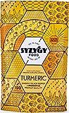 SYZYGY FOOD | Cúrcuma con Jengibre y Pimienta Negra con PROBIÓTICOS | 1520 mg | 150 Cápsulas con Curcumina sin excipientes | Máxima Absorción Para Articulaciones y Músculos | Fórmula Avanzada | BIO