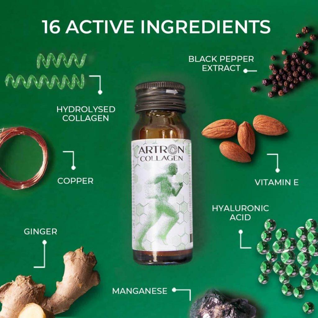 artron collagen ingredientes