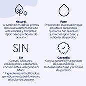 Colágeno natural sin edulcorantes