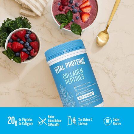 Vital proteins sin gluten
